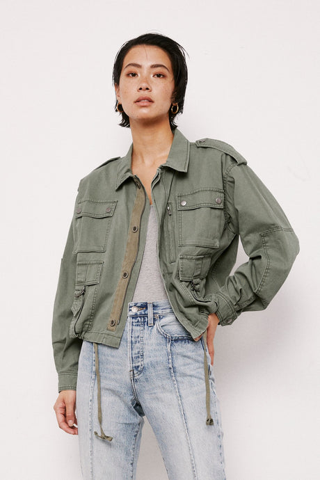 Ashton Cropped Utility Jacket
