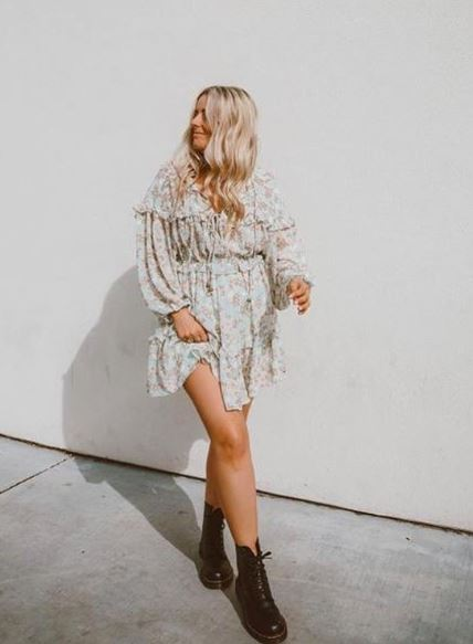 La Vie Boheme Mini Dress - civvies - indianapolis clothing boutique
