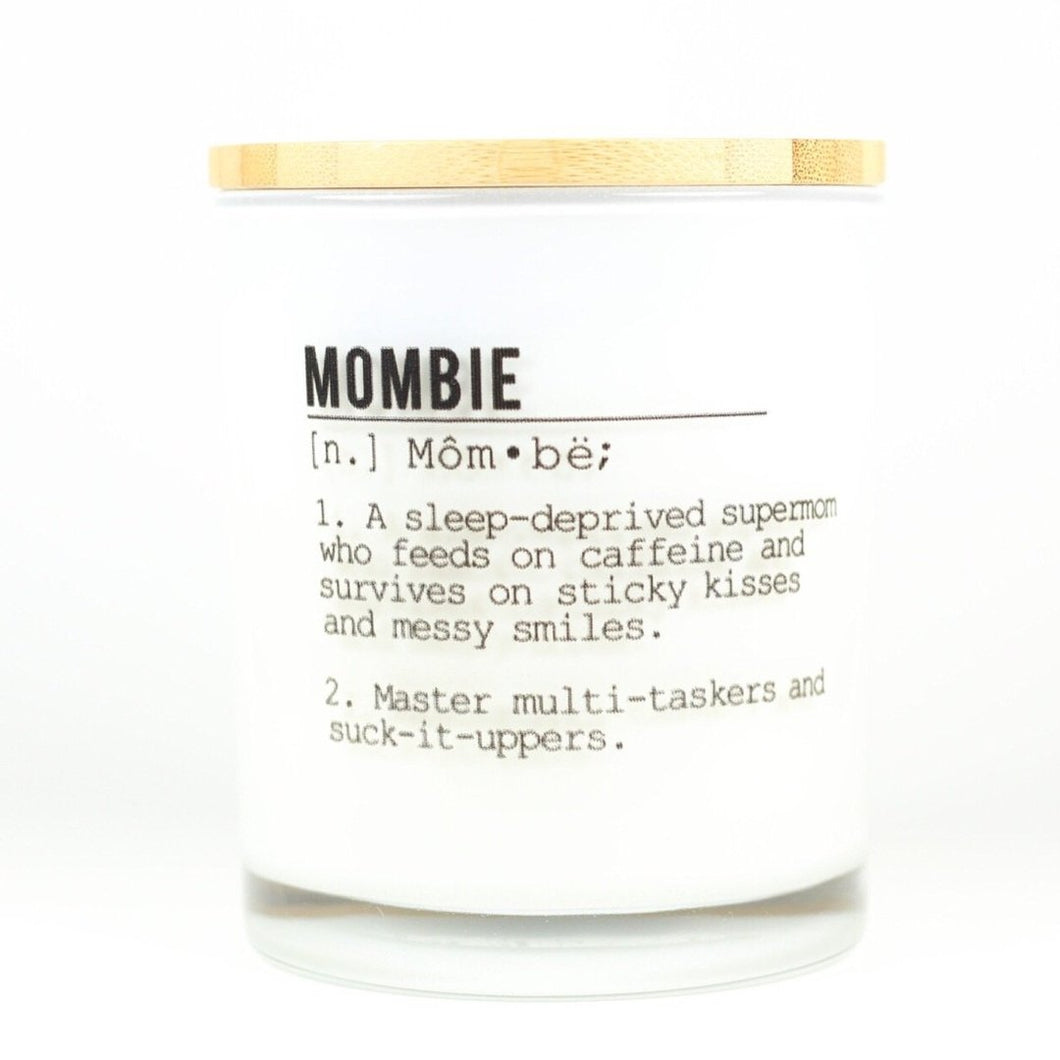Mombie Soy Candle - civvies - indianapolis clothing boutique