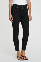Aline Double Button Waistband High Rise