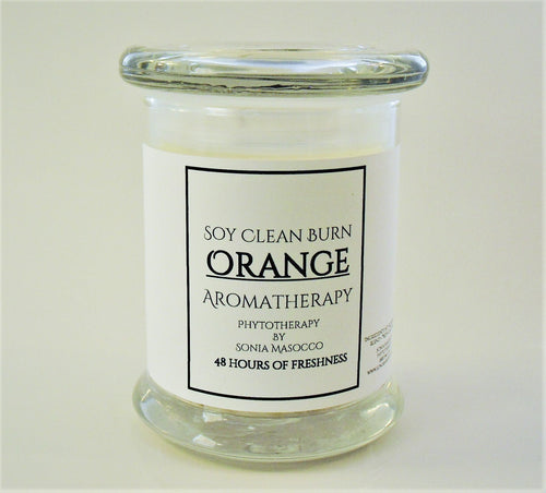 C - Soy Candle - Orange