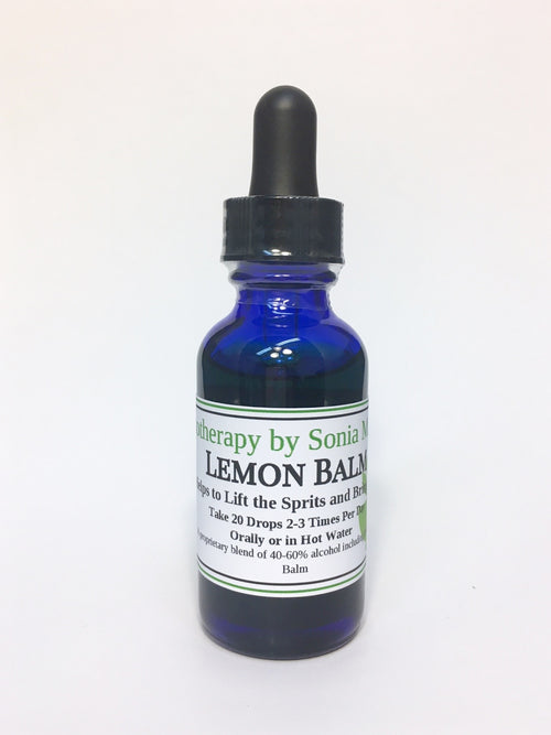 E - Lemon Balm Tincture