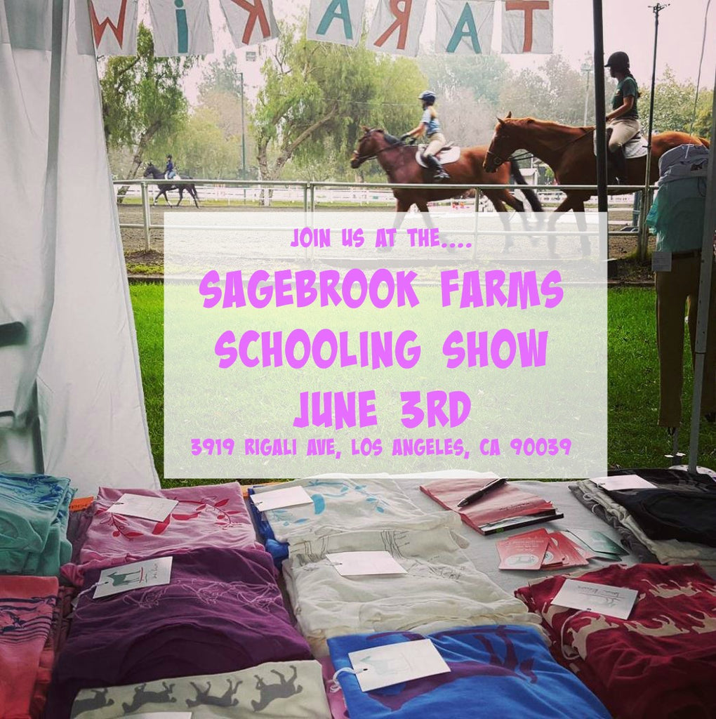 ATTN LA EQUESTRIANS : Tara Kiwi will be at the Sagebrook Farms Schooling Show June 3rd!!!