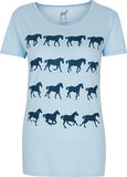 Ladies, Gaits of the Horse T-shirt