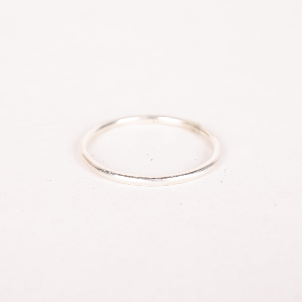 Sterling Silver Stacker Ring