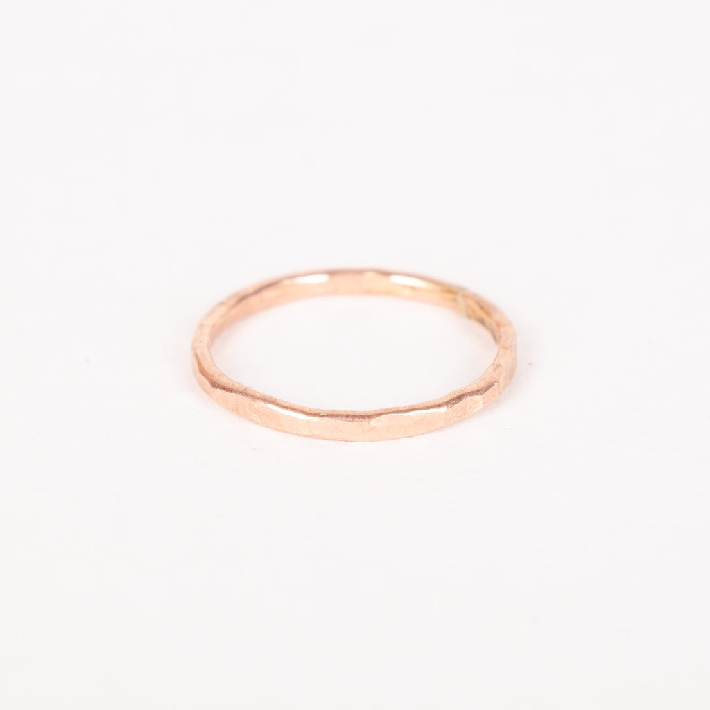 14k Rose Gold-filled Stacker Ring