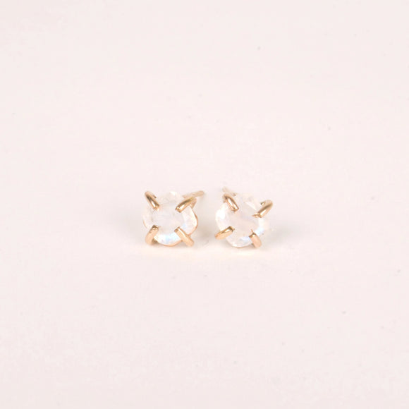 Truly A Dream Moonstone Studs