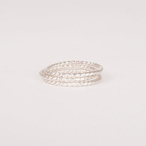 Halo Stacking Ring Sets