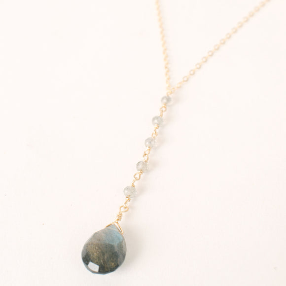 I Am Magic Labradorite Lariat
