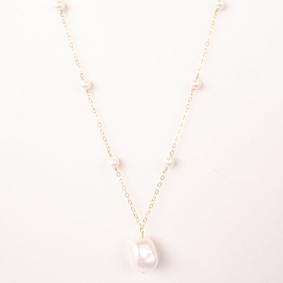 Calliope Pearl Necklace