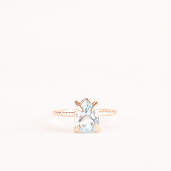Articulating Desires Blue Topaz Ring