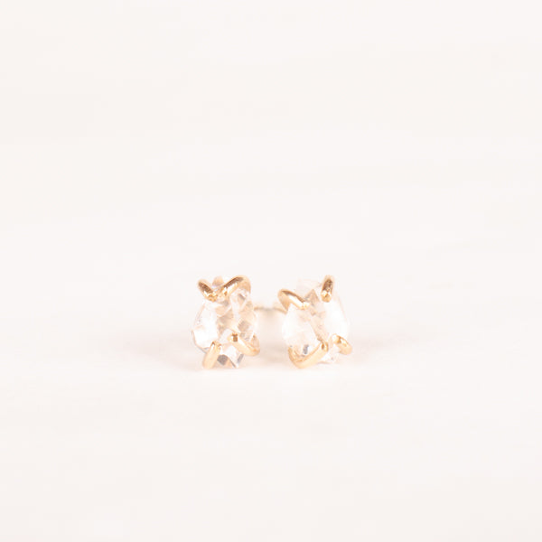 Amplify Intention Herkimer Diamond Studs