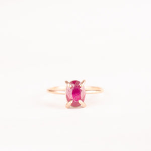 A Passionate Love Ruby Ring
