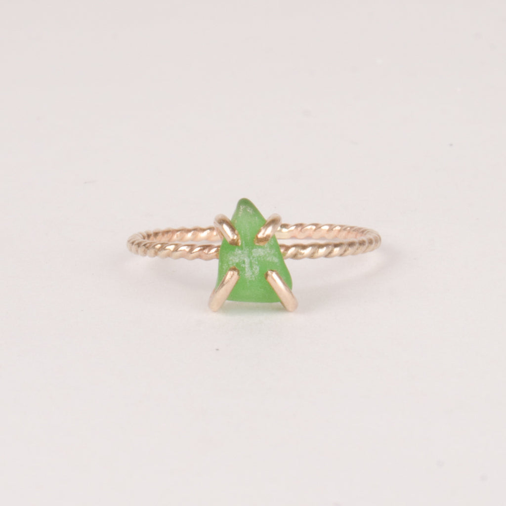 Grecian Sea Glass Ring