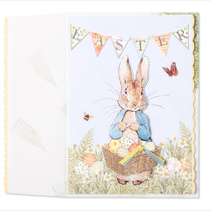 """Happy Easter"" Greeting Card by Meri Meri...Peter Rabbit"