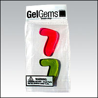 Bag of two Number 7 GelGems!