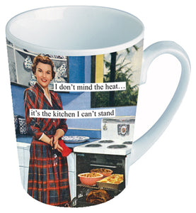 "Anne Taintor Mug  ""it's the kitchen"""