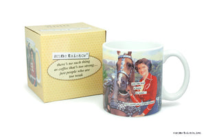 "Anne Taintor Mug  ""I could use a triple espresso"""