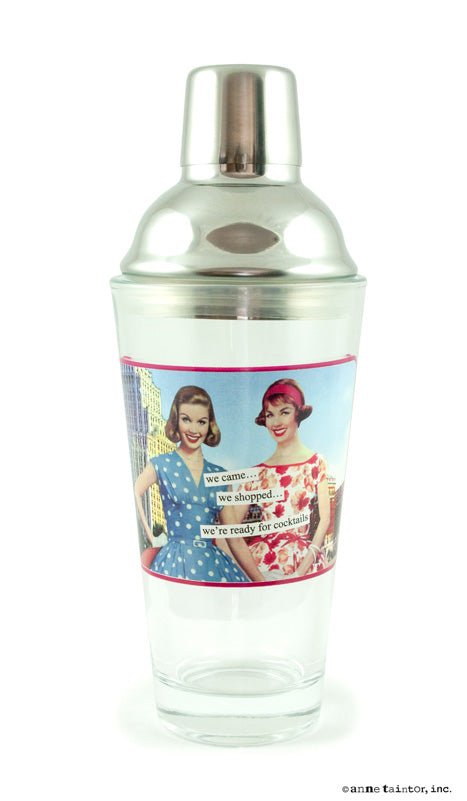 Anne Taintor Cocktail Shaker ~ we're ready for cocktails