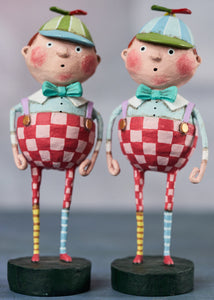 """Tweedledee & Tweedledum"" by Lori Mitchell"