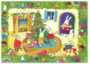Christmas Advent Calendar!  Rabbits in the Den!