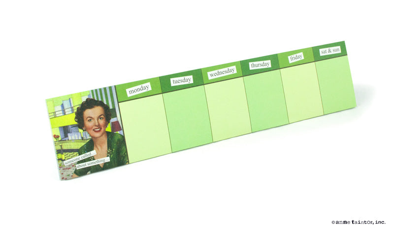 Anne Taintor Sticky To-Do Notes ~ someone called