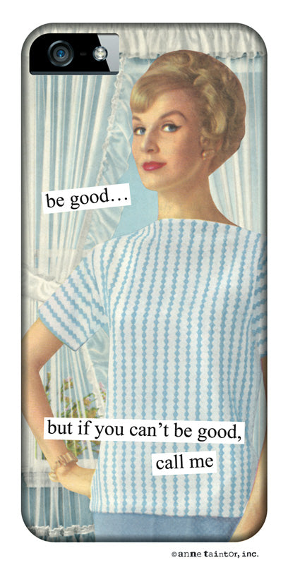 Anne Taintor Snap-On Case ~ call me ~ Fits iPhone 5/5s