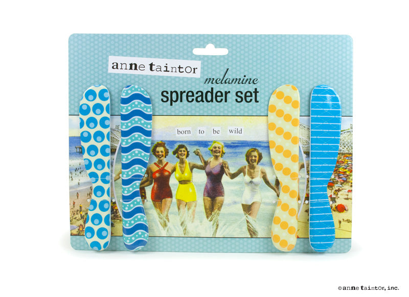 Anne Taintor Spreader Set ~ Wild