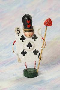 """Five of Clubs"" by Lori Mitchell"