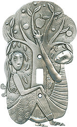 In the Garden switchplate cover (#93)