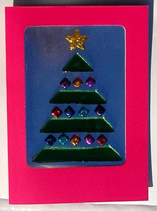 6 GelGems Holiday Cards (TREE)