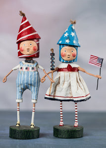 """Lil' Firecrackers"" by Lori Mitchell (set of 2!)"