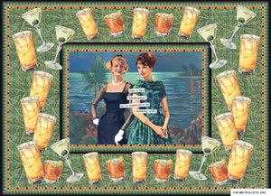 "Anne Taintor Puzzle ""who is this ""Moderation"" we're supposed to be drinking with?"""
