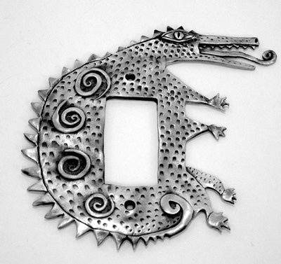 Lizard switchplate cover (#8)