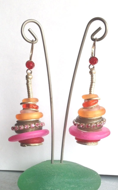 Orna Lalo Earrings, Amour