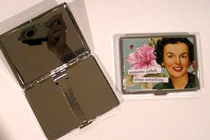 Anne Taintor ID Case, Someone called