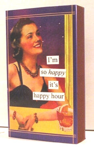 Boxed Matches, Happy Hour, Anne Taintor