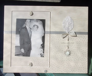 "Wedding Frame ""to have and to hold"""
