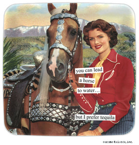 "Anne Taintor Mini Tray ""tequila"""