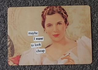 Anne Taintor Postcard with Magnet