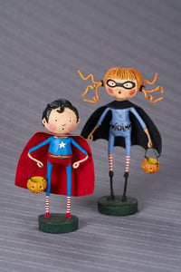 """Our Hero"" & ""Batty Natty"" by Lori Mitchell"