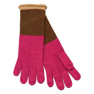 "Echo ""Optical Stripe Gloves"""