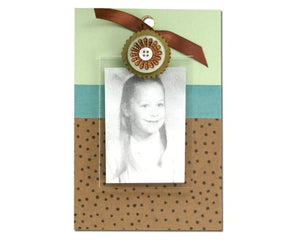 Copper Flower cute clip frame