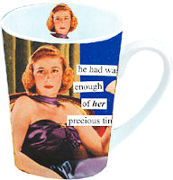 Anne Taintor Mug, Wasted