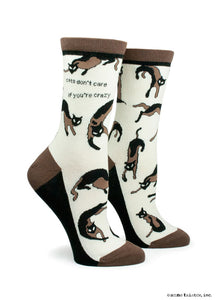 Anne Taintor Crew Socks ~ cats