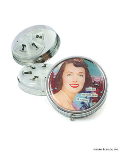 Anne Taintor Pill Compact ~ time for my next dose of serenity