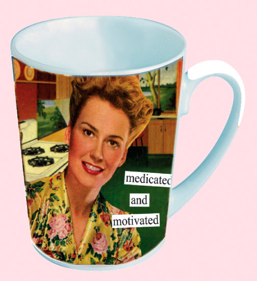 Anne Taintor Mug, Motivated