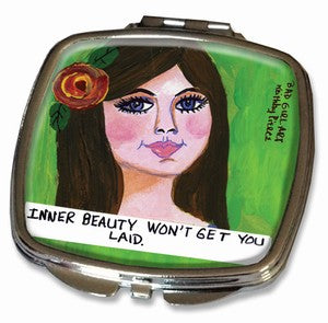 "Compact Mirror ""Inner Beauty"""