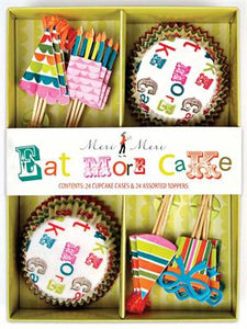 EAT MORE CAKE! Cupcake Kit!