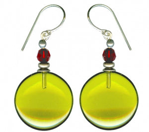 Owen Glass Earrings, #W7